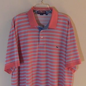 Vineyard Vines Mens Casual Polo Shirt S/S Sz XXL